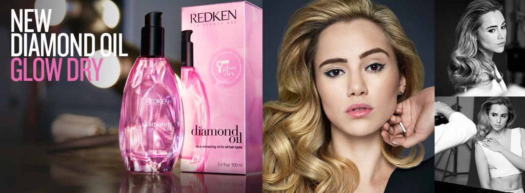 REDKEN Diamond Oil Glow Dry Facebook Cover
